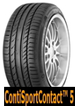 ContiSportContact 5 for SUV 275/50R20 109W MO