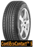 ContiEcoContact 5 for SUV 235/55R18 104V XL VOL