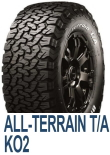 ALL-Terrain T/A KO2 LT245/75R17 121/118S