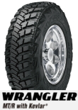 WRANGLER MT/R with Kevlar LT315/75R16 121Q