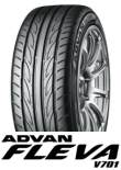 ADVAN FLEVA V701 225/35R18 87W XL
