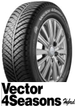 Vector 4 Seasons Hybrid 185/65R14 86H